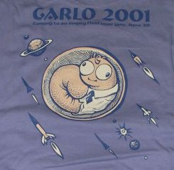 GARLO 2001 T-Shirt back